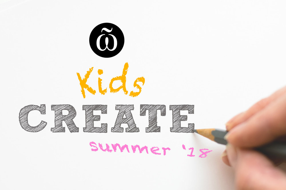 Kids Create art activities summer 2018