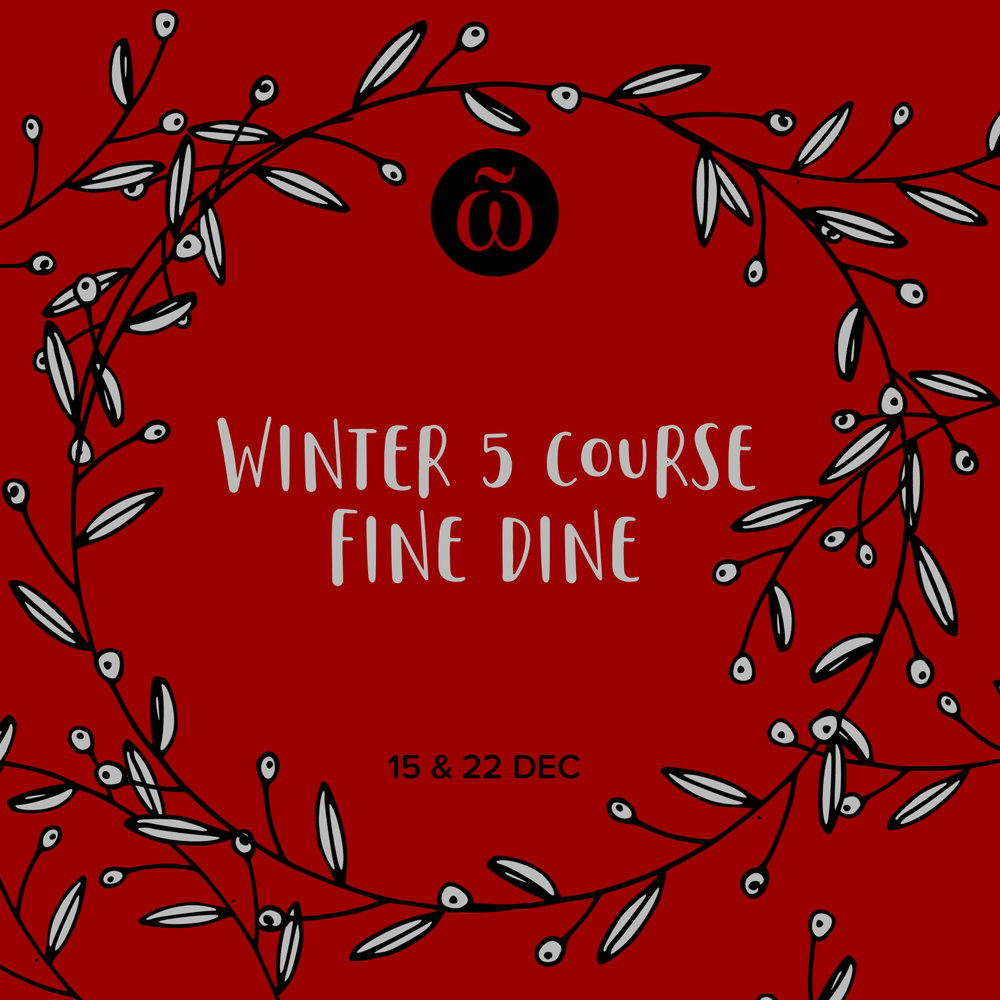 Winter 5 Course Fine Dine Whitaker Museum