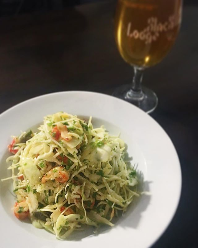 White cabbage, crayfish, capers & chervil, part of our brand new sharing plates menu