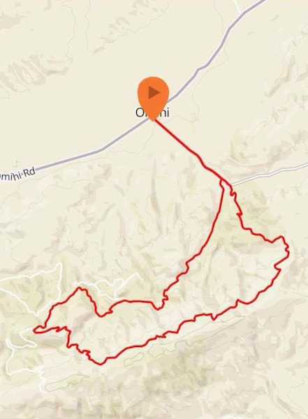 Mountain Bike 26km Route