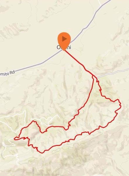 Mountain Bike 26km Route