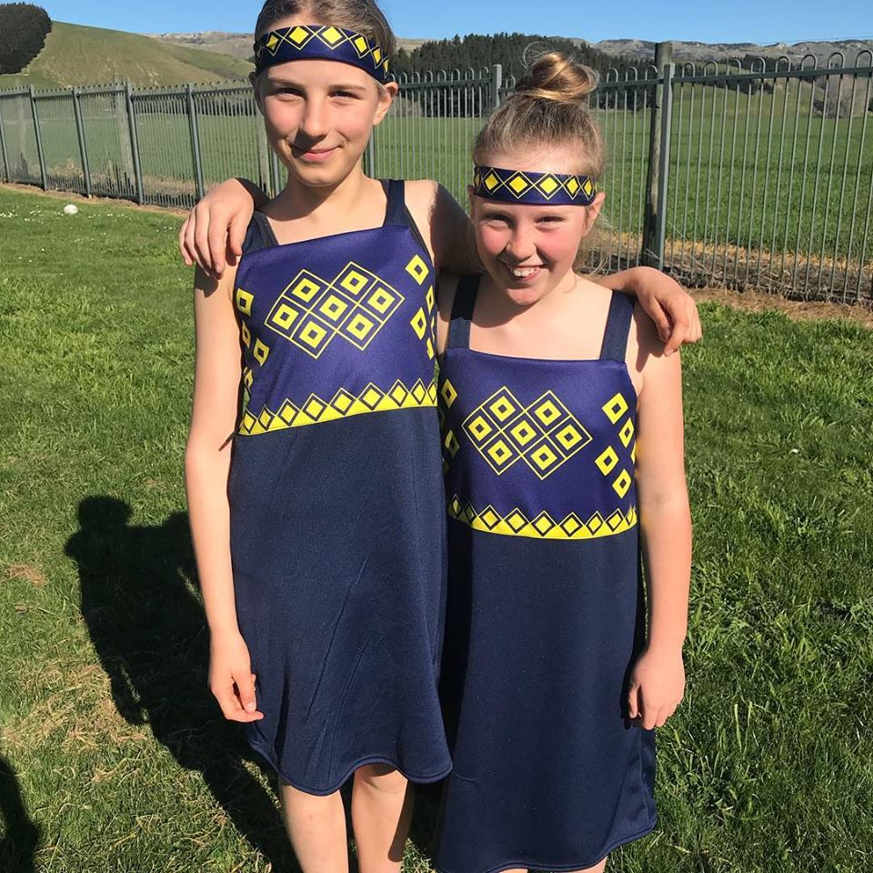 Our new Kapahaka uniforms.