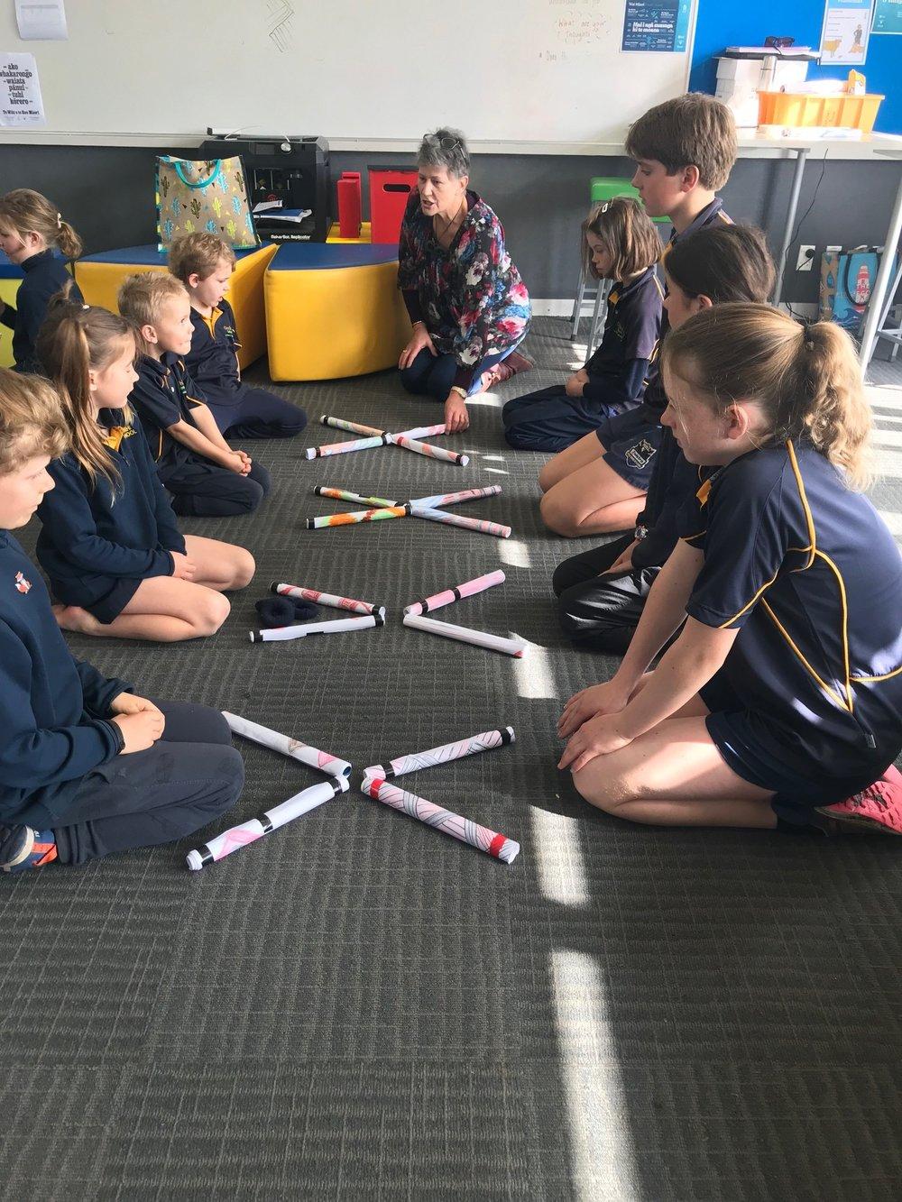 Wonderful learning during Te wiki o te reo Maori.