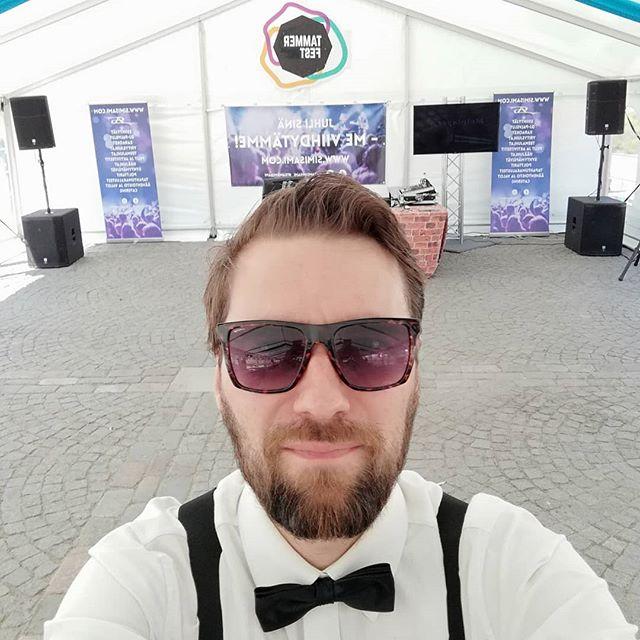 Tammer Fest päivä 1/4. Mä oon valmiudessa😎 Festival is on😎 #festival #tammerfest #tampere #singer #artist #laulaja #artisti #musiikki #music #gig #keikka #keikalla #hot #fit #fitness #beastmode #selfie #teamsimisami @teamsimisami