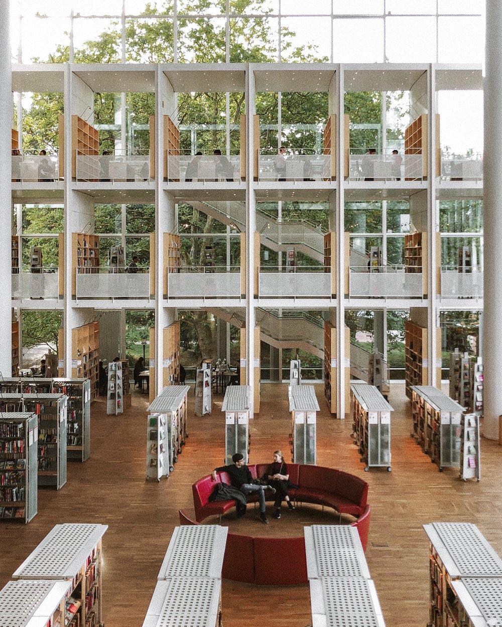 Malmö Library Sweden