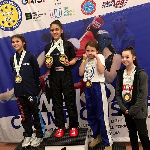 Lizzie gets Bronze in WAKO British Championships