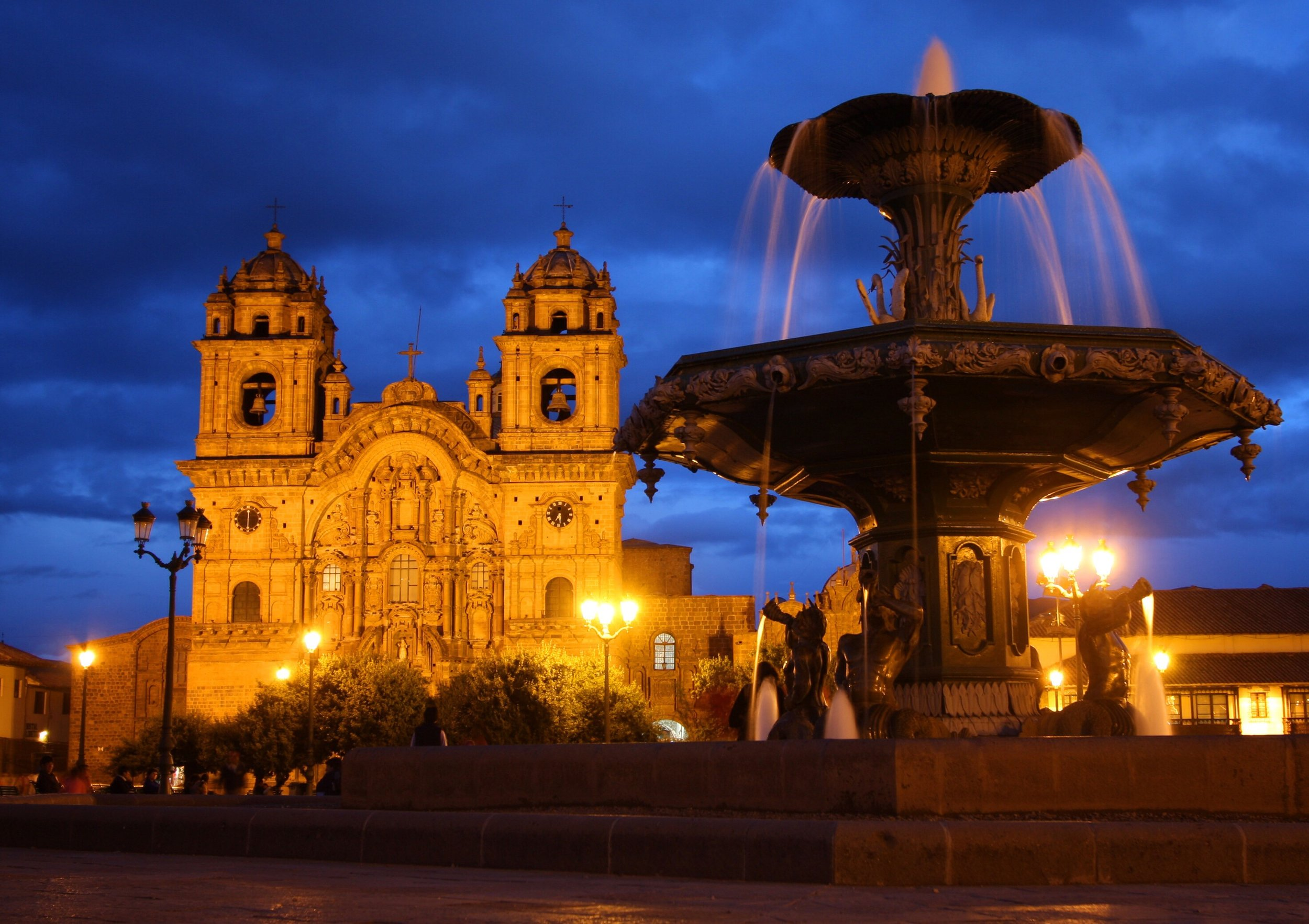 Cathedral Plaza De Armas Cusco Peru
