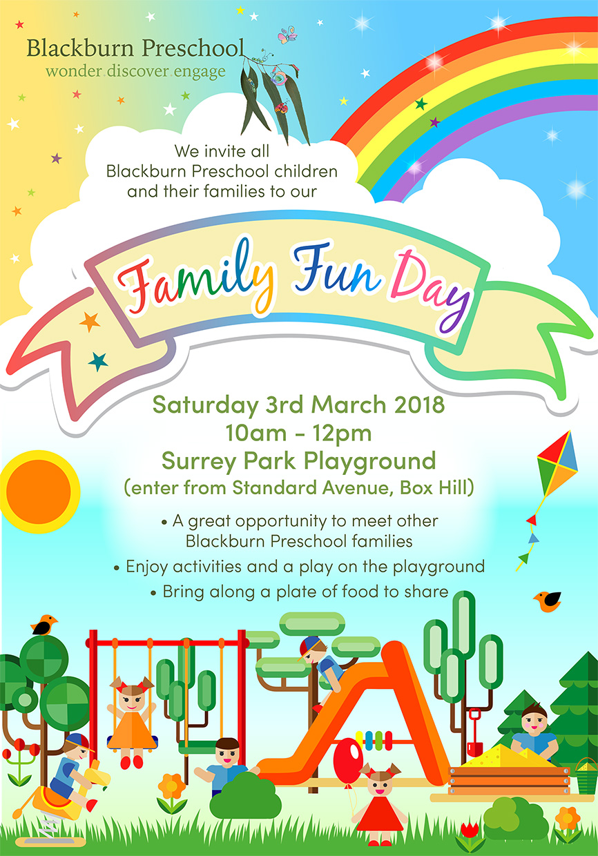 Family Fun Day Blackburn Preschool