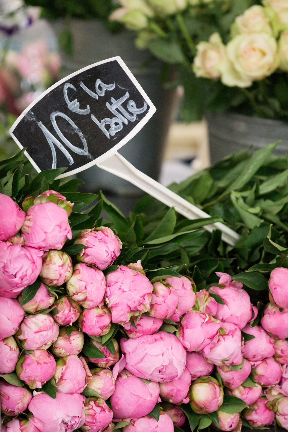 Love peony season?! Discover the best markets in Paris for beautiful peonies. | Peony season in Paris | Paris Flower Markets