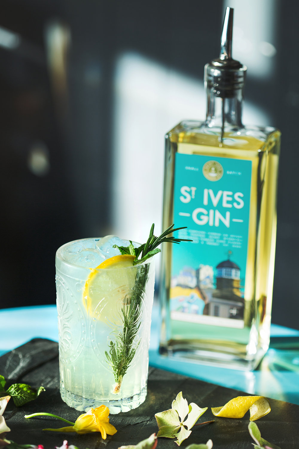 The Cornish Garden Cocktail with St Ives Gin