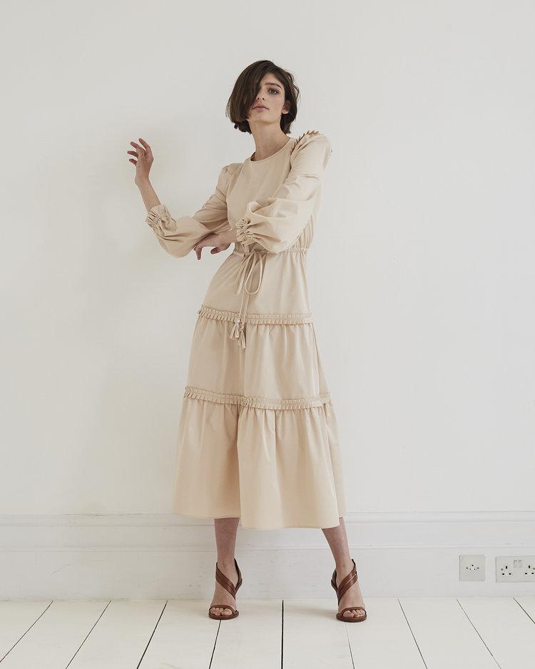 422f7a9728 Christy Plain Dress — Anna Mason London