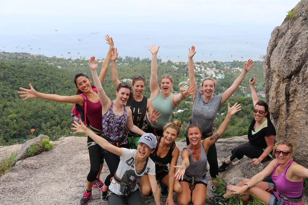 fitness retreat on Koh Tao Thailand, fitness retreat in Thailand