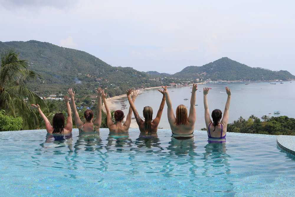 Fitness retreats on Koh Tao, Fitness retreat in Thailand