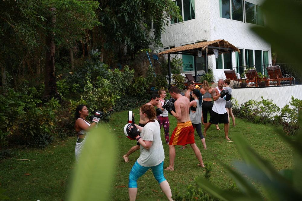 Fitness retreat on Koh Tao, fitness retreat Thailand