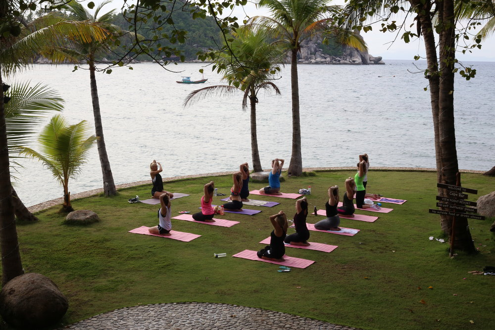 fitness retreat in Thailand
