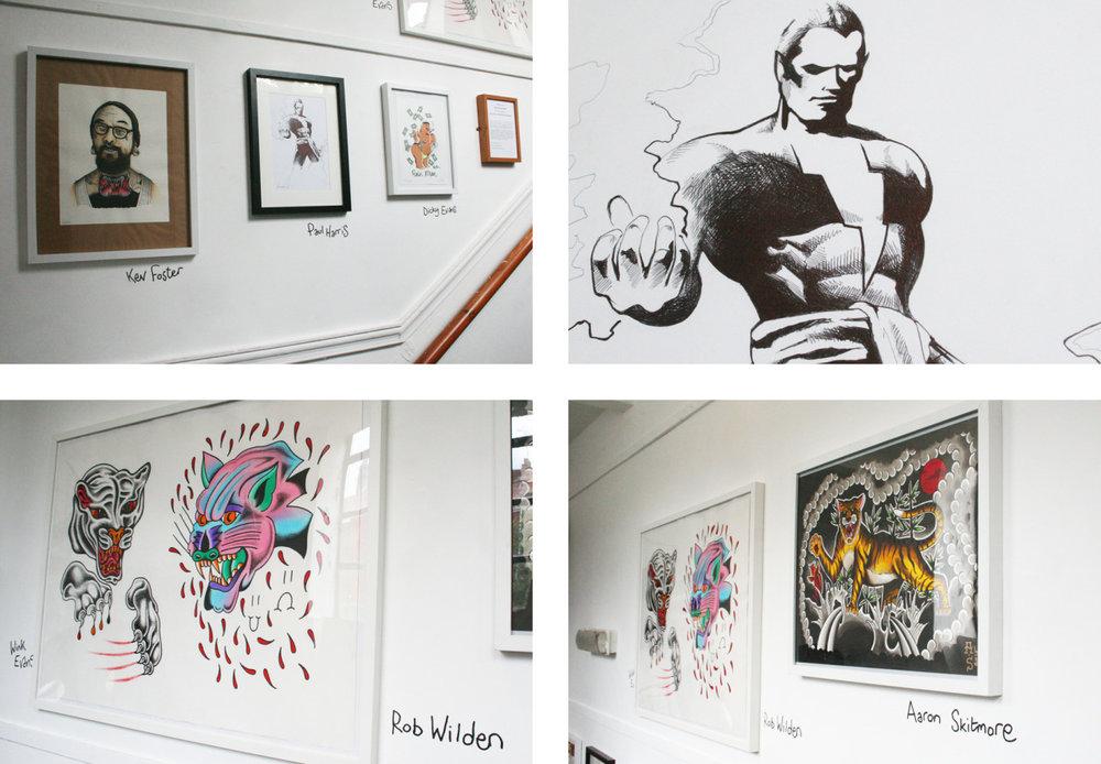 look wot we drewd: An Exhibition of Artworks by Rag & Bone x Philip Browne Menswear