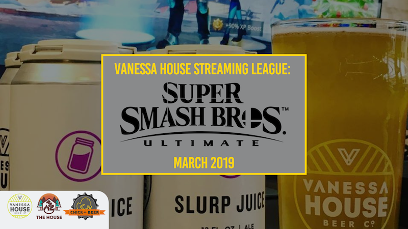 Vanessa House Beer Co. Video Game Streaming League