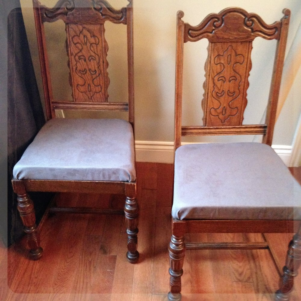 how to reupholster your dining room chairs maples to mountains