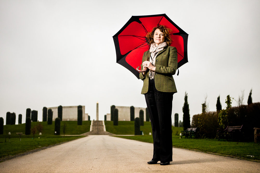 Sarah Montgomery, MD of the National Memorial Arboretum, Staffordshire.