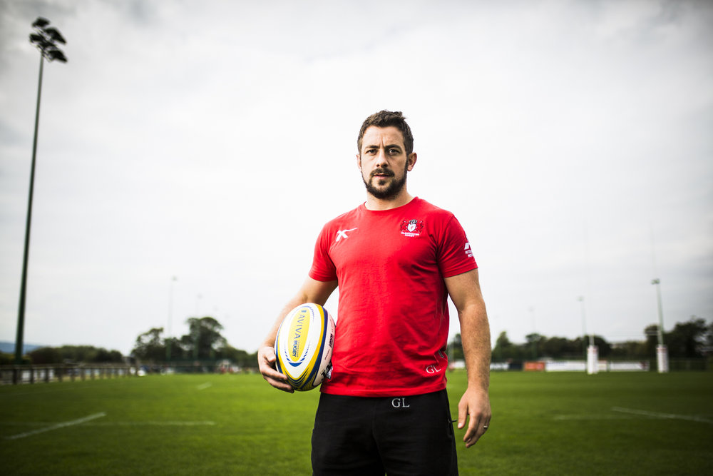 Scotland and Gloucester Rugby player Greig Laidlaw