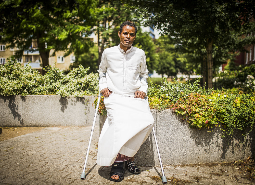 Yassin Hersi, who was injured during the Finsbury Park Terror attacks