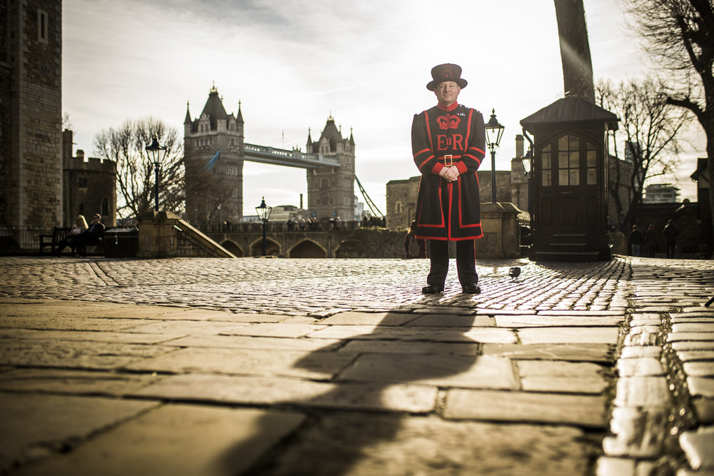 Perry Briggs, Yeoman Warder at the Tower of London