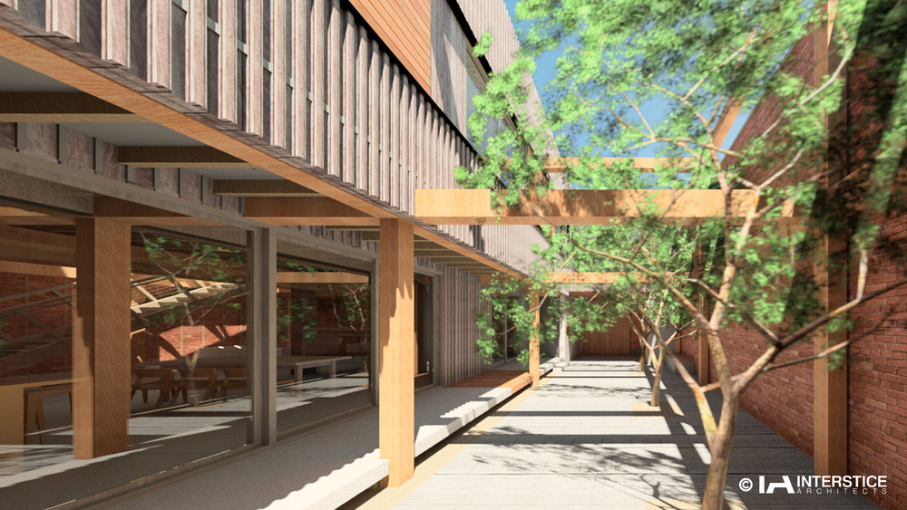EXTERIOR RENDERING @ COURTYARD TOWARD ENTRY.jpg