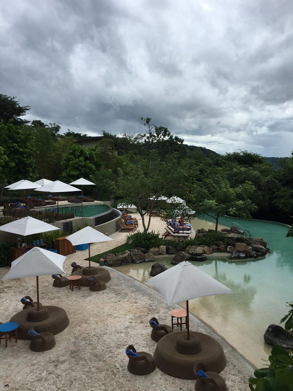 Pools at Andaz Peninsula Papagayo