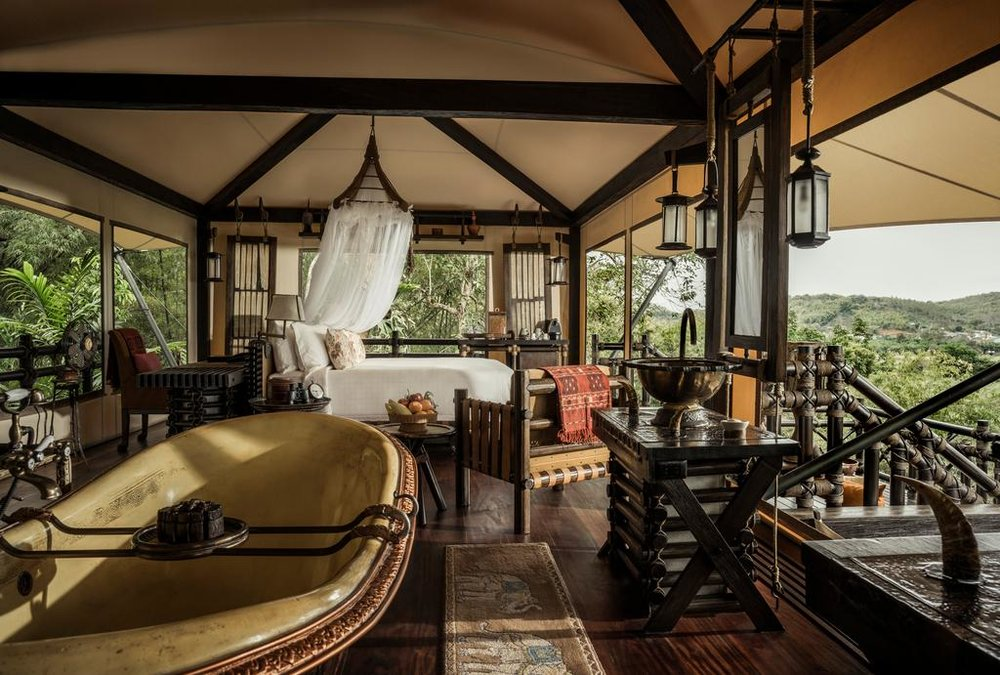 Photo courtesy of Four Seasons Tented Camp.