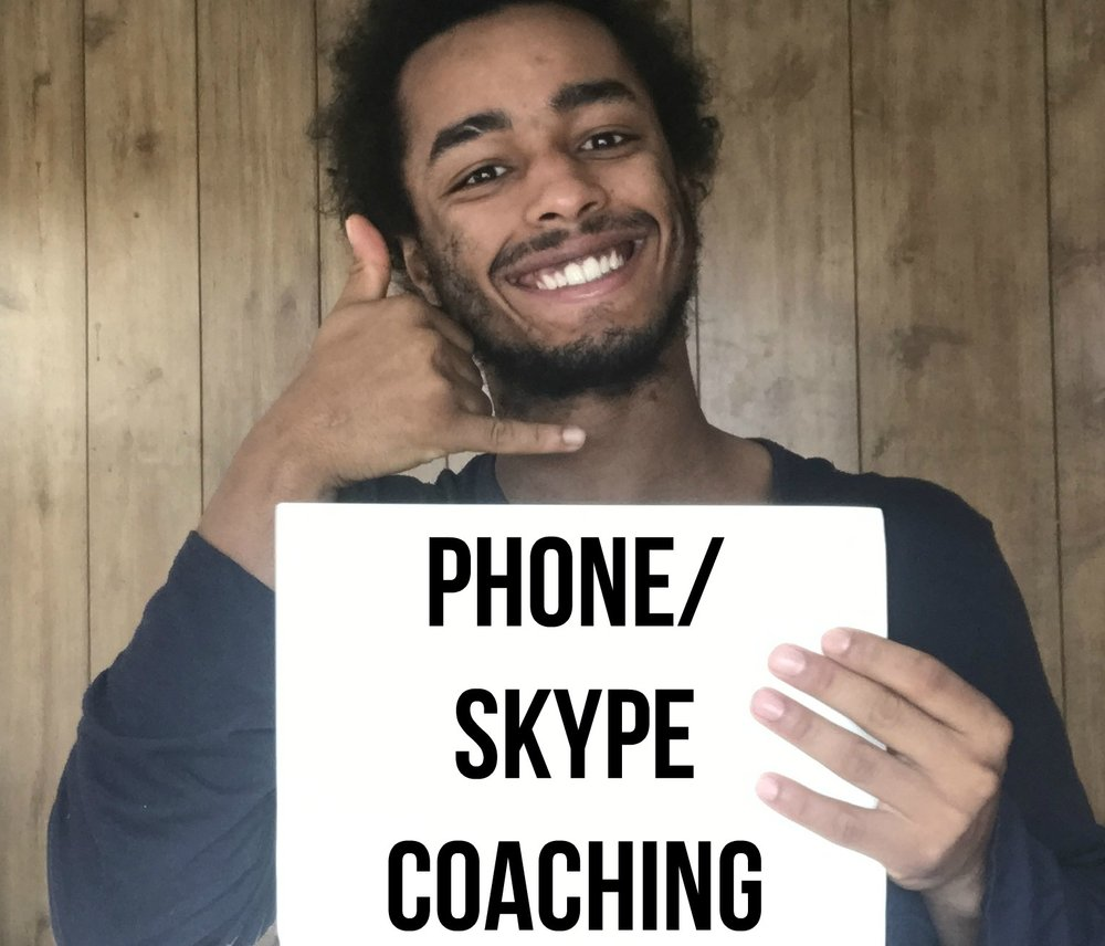 Phone/skype - Wouldn't you like to have me right in your pocket for any relationship advice? If you have an ongoing problem and/or sticking point with your dating/spiritual life, then the Coach in a Pocket package is perfect for you. You'll be able to ask me unlimited amount of questions in the course of the 4 weeks. The reason why I use Whatsapp is because you not only can ask me any question you want, but I can also respond to you in the form of an audio where you can save it and listen to it some other time.