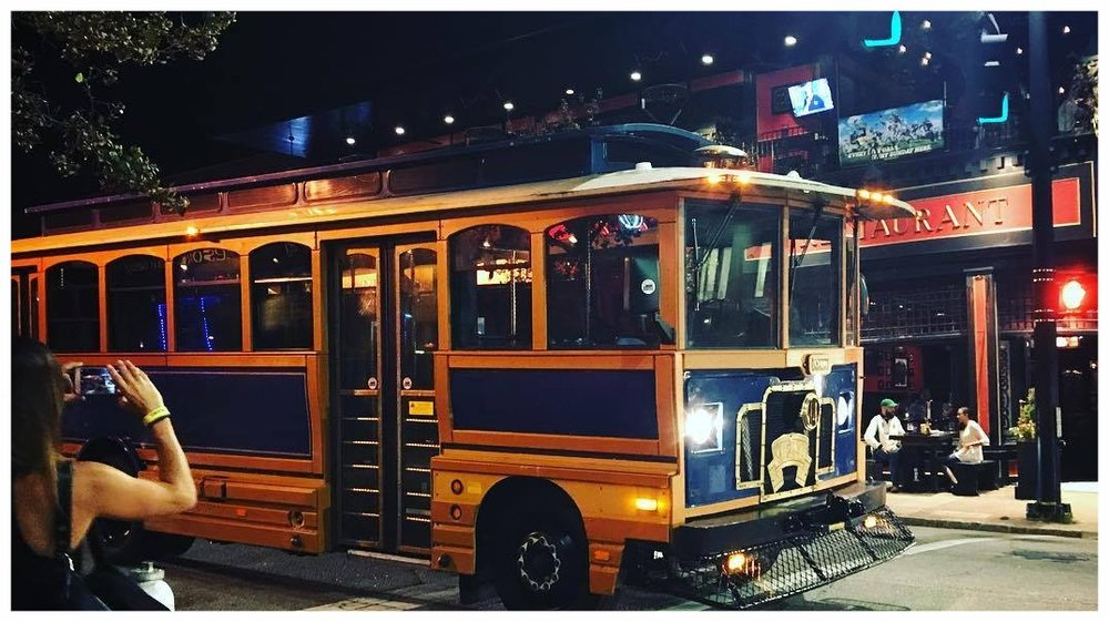 great raleigh trolley nightlife tour