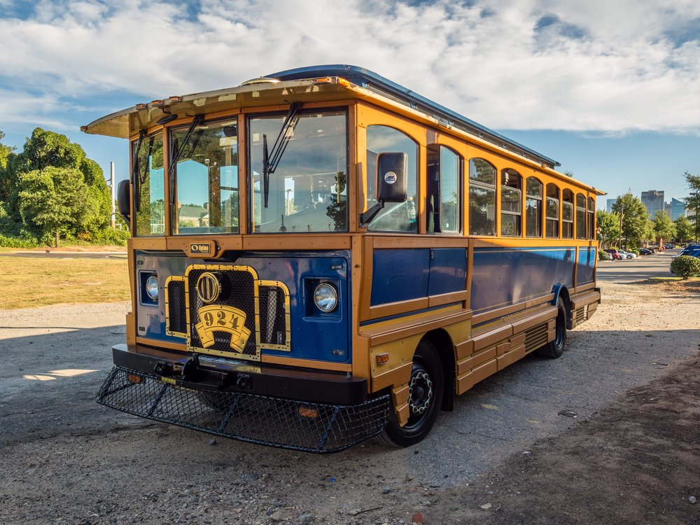 The Great Raleigh Trolley