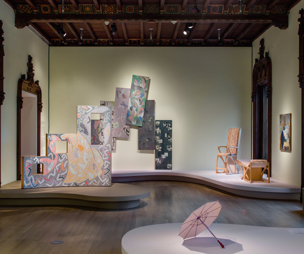 Installation view of the exhibition  Marc Camille Chaimowicz: Your Place or Mine…,  March 16 - August 5, 2018, The Jewish Museum, NY. Photo by: Jason Mandella