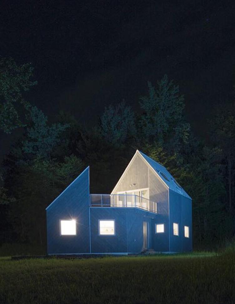 //Tunbridge Winter Cabin //2017 //Built