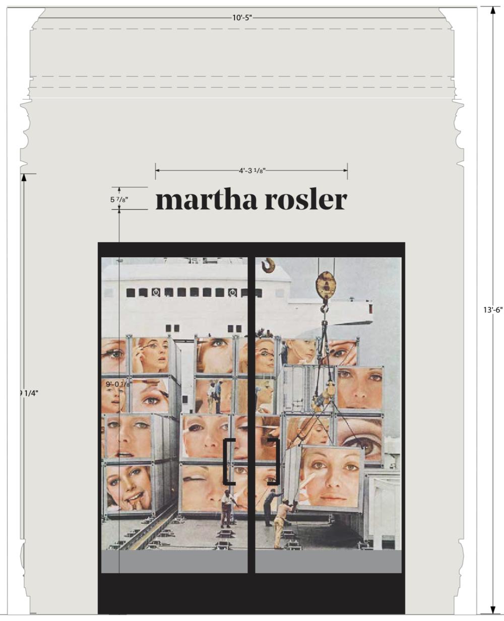 //Martha Rosler: Irrespective //2018 //Exhibition Design