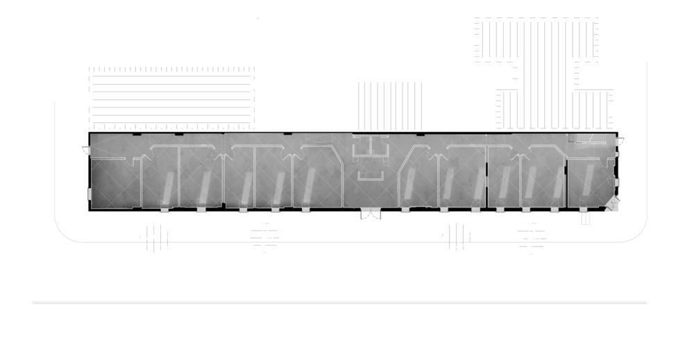 //White = Additions //Plan of Ground Floor