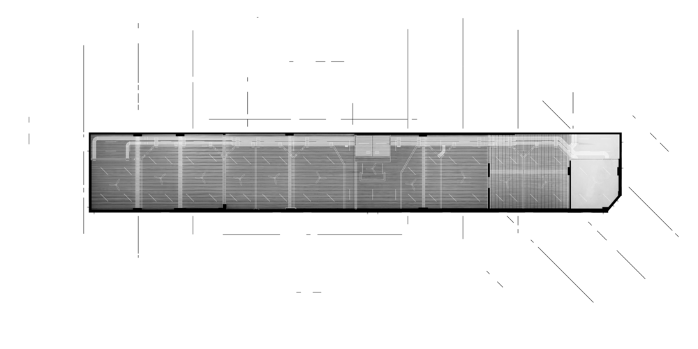 //White = Additions //Plan of the Ceiling