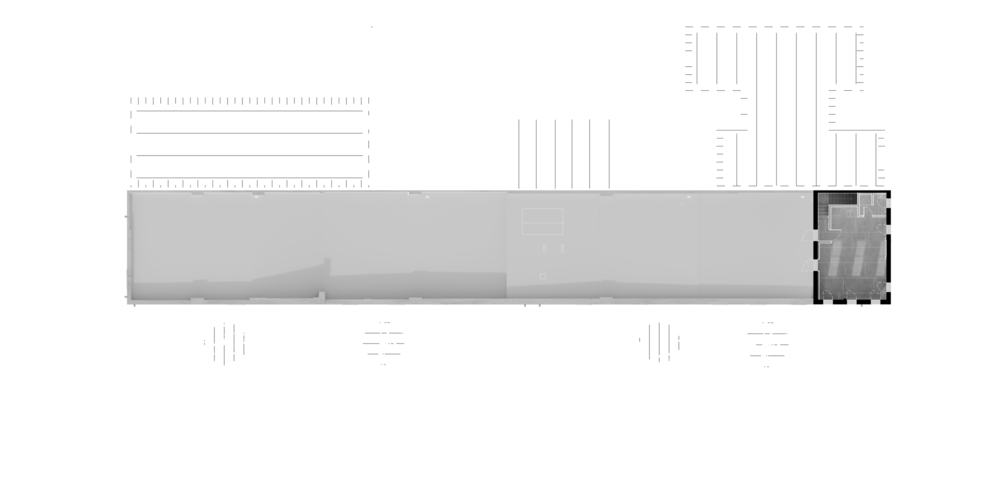 //White = Additions //Plan of Second Floor
