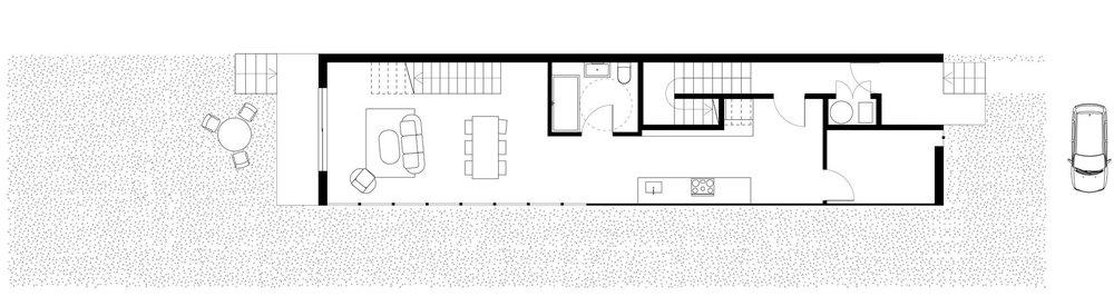 //Plan of Ground Floor //Unit 1