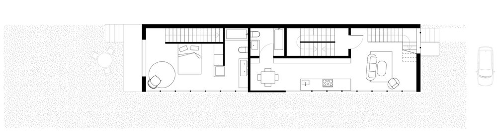 //Plan of Second Floor //Unit 1 & 2