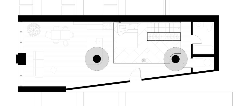//Plan of mezzanine level