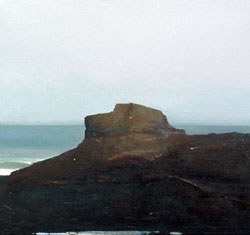 Otter Point , oil on linen