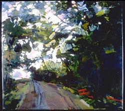 Pulsation , oil on canvas, 2001