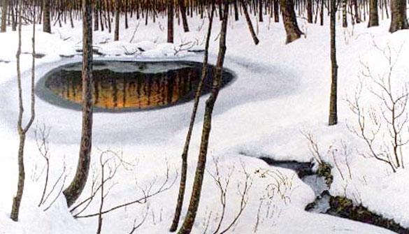"""Phil Poirier, """"Mystery Pool,"""" (1996 Resident)"""