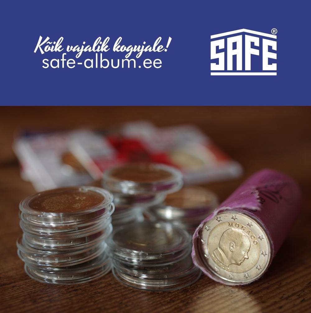 SAFE - SAFE ehk Schwäbische Albumfabrik näol on tegemist kogujate seas üle maailma tuntud ja tunnustatud kogumistarvikute tootjaga. SAFE tootevalikust võib leida laia valiku erinevaid kogumislahendusi ümbrikutele, märkidele, medalitele, ordenitele, korkidele, etikettidele, kelladele, pliiatsitele, mineraalidele, mänguasjadele, mudelitele, hobi- ja autogrammikaartidelejne. Lisaks eeltoodule hõlmab SAFE tootevalik nutikaid lahendusi mitte ainult kogumiseks vaid ka kollektsiooni säilitamiseks ja kohaseks esitlemiseks. SAFE kaubamärki esindab Baltikumis Vilk Varustus OÜ. Pakume kiiret ja kvaliteetset teenindust. Lisaks tavapärasele tootegarantiile oleme iga kliendi jaoks alati olemas ning aitame leida sobiva lahenduse.