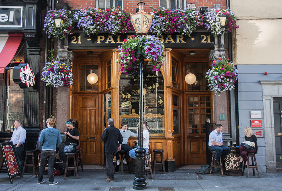 Bars - Every corner you turn while exploring you will stumble upon a good bar. Here are a few of our favorites:(click on any for further information)The Palace BarThe Long HallKehoes