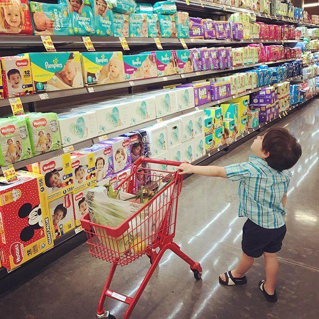 So many options. Dreaming of potty training.  #bentleyjackson