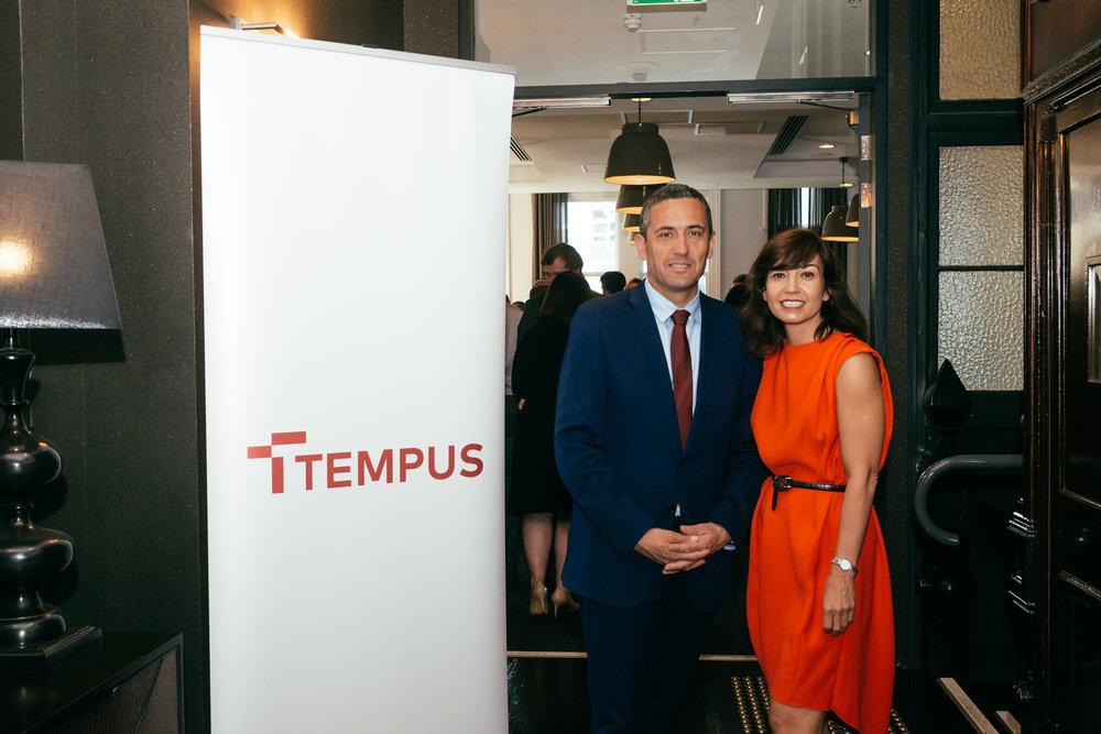 The Hon Tom Koutsantonis MP & Sara Bell, CEO Tempus Energy