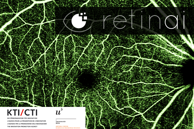 RetinAI is awarded with a Swiss CTI Grant [May'17] - RetinAI has been awarded a Swiss non-dilutive public grant from the Swiss Commission for Technology and Innovation (CTI). The project size is close to CHF 1 Mil.and will develop over 24 months in collaboration with the OTL Group (ARTORG Center, UniBern).