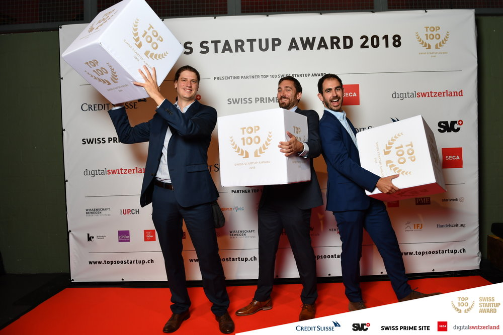 RetinAI on the top100 Swiss startups [september'18] - This year RetinAI has been selected as one of the TOP 100 of Swiss Startups 2018! It's a great recognition for the team. We are proud of the results we are achieving and we are extremely excited about the future ahead!